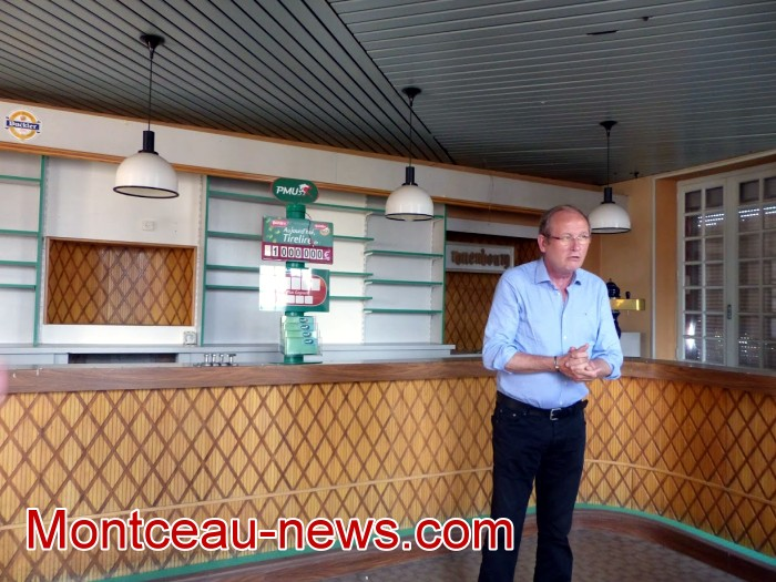 Sanvignes mines Jean-Claude Lagrange maire ville city avenir Liberty bar cafe salle local accueil association ANPE benevole association flyer site web Montceau-news.com 0506193