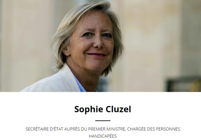 Sophie Cluzel secretaire etet handicap ministre Macron premier visite officiel Saone-et-Loire masino home departement annonce sute web Montceau-news.com 150619