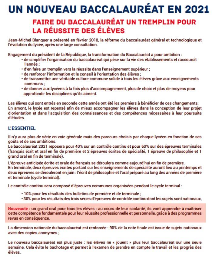 presentation Bac baccalaureat 2019 rectorat Dijon organisation concours examen lutte fraude triche Montceau-news.com 1306193