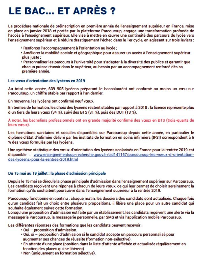 presentation Bac baccalaureat 2019 rectorat Dijon organisation concours examen lutte fraude triche Montceau-news.com 1306196