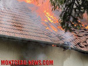 feu habitation gourdon - faits divers - montceau news