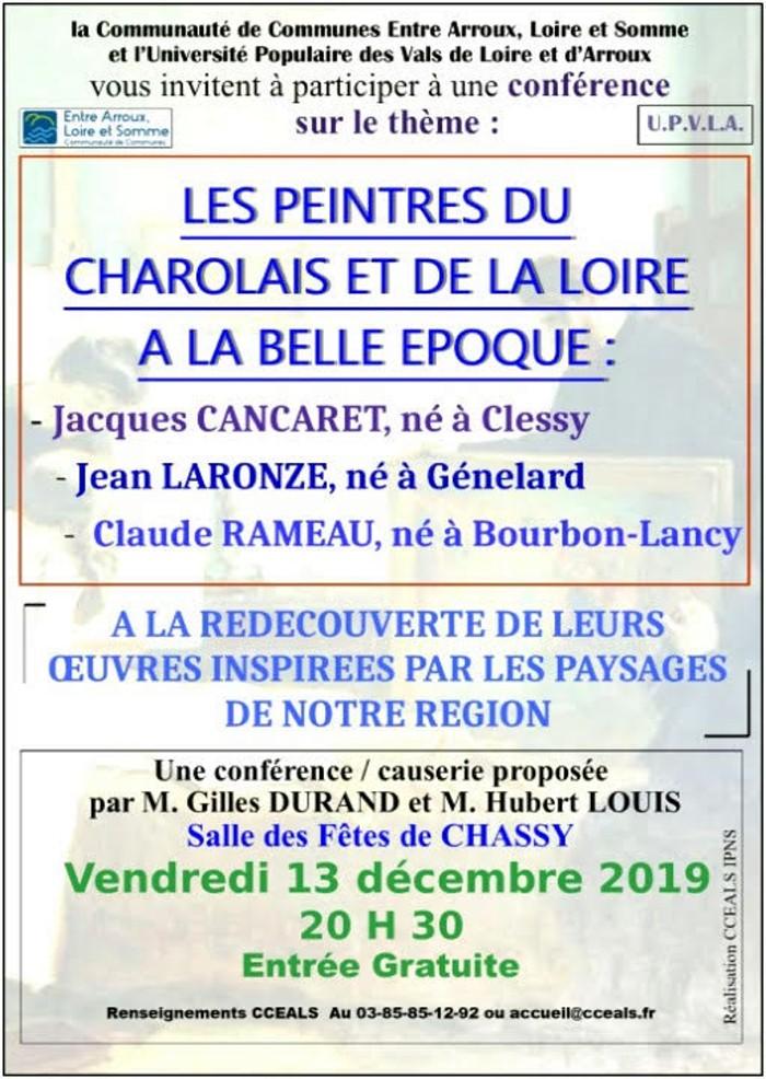 Programmation Culturelle de la Communauté de Communes Entre Arroux, Loire et Somme