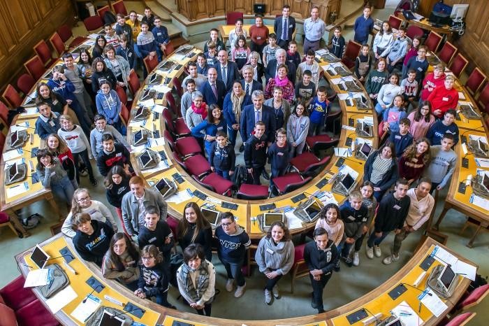 CD71_Le Conseil départemental des jeunes a été installé
