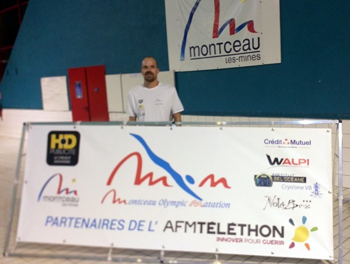 Montceau – Gilles GRABSKI prêt pour le record de France et du Monde