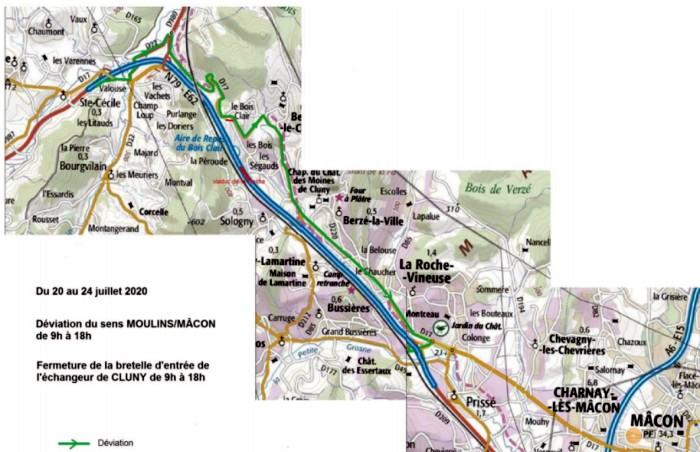 RCEA – Travaux d'entretien de la Route Nationale 79