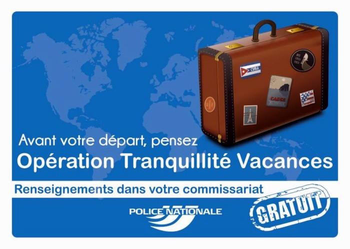 """Opération """"Tranquillité vacances"""" (Saône-et-Loire)"""